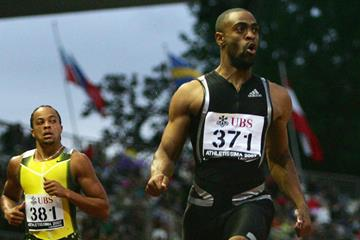 Commanding 19.78 win for Tyson Gay in Lausanne (Getty Images)