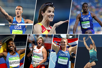 2016 World Athlete of the Year longlist nominees - field and combined events (Getty Images)