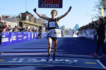 Takuya Noguchi prevails at the 2017 Gold Coast Marathon (organisers)