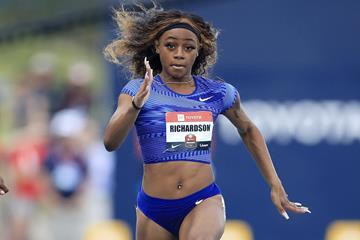 US sprinter Sha'Carri Richardson (Getty Images)