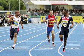 Mark Lewis Francis defeats Maurice Greene in Glasgow match (Getty Images)