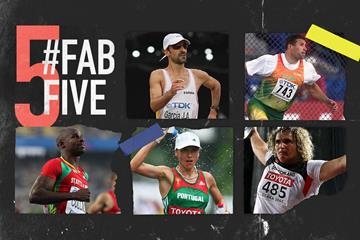Fab five: prolific performers at the World Championships (Getty Images)