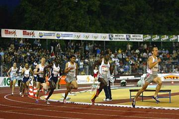 USA's Alan Webb strides away to 1500m win in Ostrava (Getty Images)