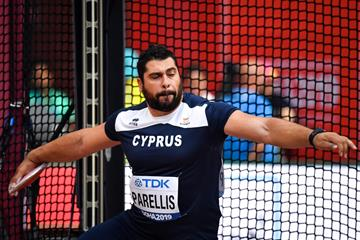 Cypriot discus thrower Apostolos Parellis (AFP/Getty Images)