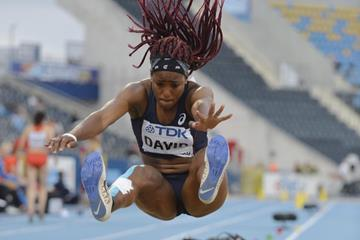 Yanis David in the long jump at the IAAF World U20 Championships Bydgoszcz 2016 (Getty Images)