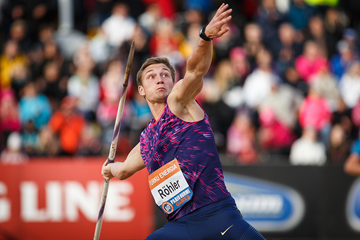 Thomas Rohler, winner of the javelin in Turku (Anssi Mäkinen)