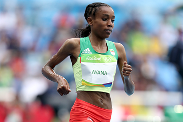 Almaz Ayana in the 10,000m at the Rio 2016 Olympic Games (Getty Images)