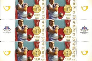 IAAF: Kozmus's stamp of approval - Slovenia issues stamp ...