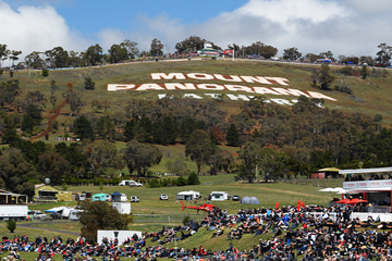 A general view of Mount Panorama in Bathurst, Australia (Getty Images)
