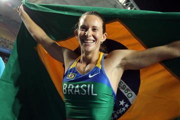 Fabiana Murer Brazilian pole vaulter  ()