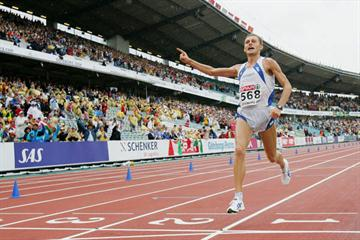Marathon gold for Stefano Baldini in Gothenburg (Getty Images)