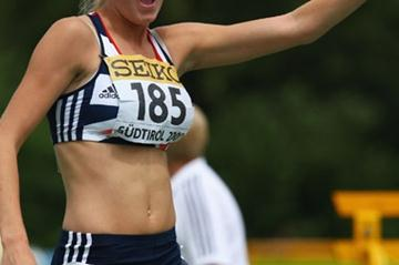 Rowena Cole of Great Britain wins bronze in the 800m final (Getty Images)
