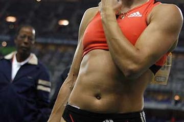 Yelena Isinbayeva in Paris (Getty Images)