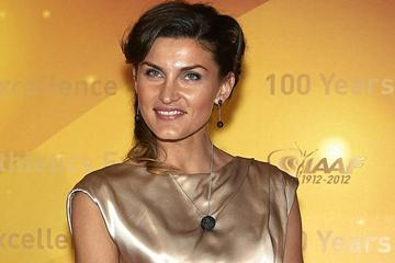 Anna Chicherova at the IAAF Centenary Gala at the Museo Nacional d'Art de Catalunya on November 24, 2012 in Barcelona (Getty Images)