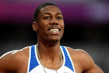 British sprinter Zharnel Hughes (Getty Images)