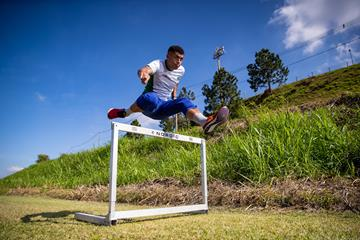 Brazilian 400m hurdler Marcio Teles (Getty Images)