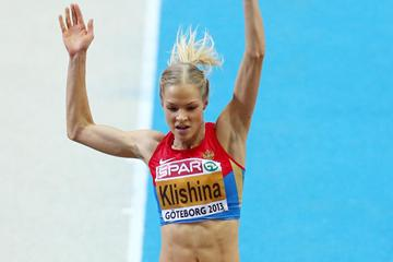 Russia's Darya Klishina successfully defends her European indoor Long Jump title (Getty Images)