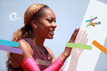 Sanya Richards Ross home workout (Getty Images)