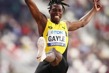 Tajay Gayle, winner of the long jump at the IAAF World Athletics Championships Doha 2019 (Getty Images)
