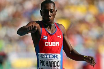 Cuba's Pedro Pablo Pichardo in the triple jump final (Getty Images)