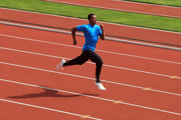 Ashton Eaton training in Eugene (Getty Images)