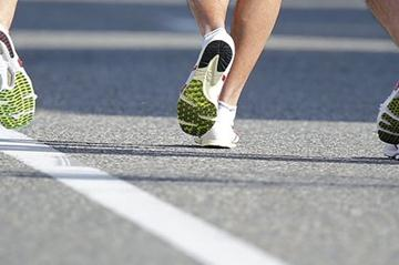 Race walking - not as easy as it looks! (Getty Images)