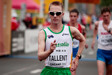 Jared Tallent in the 50km race walk at the IAAF World Race Walking Cup (Getty Images)