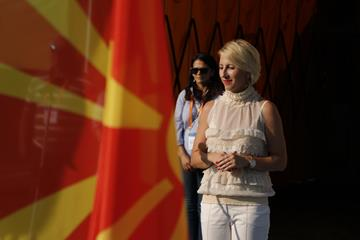 Aleksandra Vojneska Zikova, President of the North Macedonia Athletics Federation (European Athletics)
