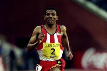 Haile Gebrselassie in the 1998 Memorial Van Damme (Getty Images)