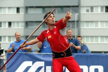 One last throw - Jan Zelezny in Mlada Boleslav, Czech Republic (Tomas Bem Photography)
