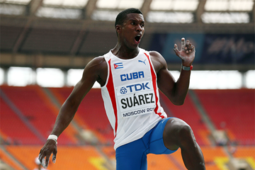 Cuban decathlete Leonel Suarez (Getty Images)