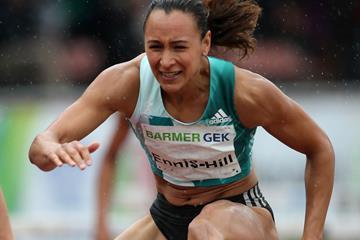 Jessica Ennis-Hill in action in Ratingen (Gladys Chai von der Laage)
