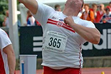 Poland's Giza Jacub - U23 gold (Hasse Sjögren)