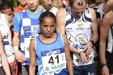 Zenash Gezmu at the Marathon de Senart (Organisers)