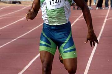 Asafa Powell (JAM) goes for strength training with 400m outing in Kingston (Anthony Foster)