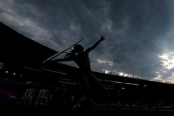Action from the javelin final (Getty Images)