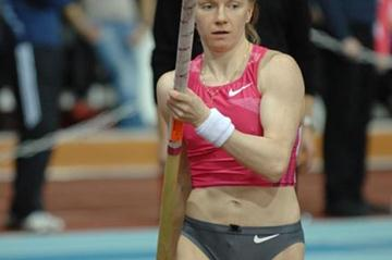 Svetlana Feofanova at the 2010 Russian Indoor Championships (Nikolay Matveev)