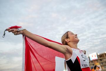 Delia Sclabas at the 2016 European Athletics Youth Championships (Getty Images)