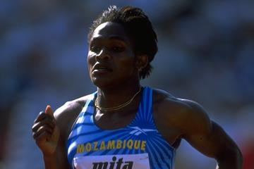 Maria Mutola at the 1997 IAAF World Championships (Getty Images)