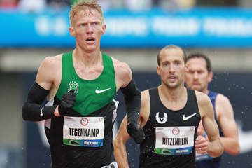 US distance runner Matt Tegenkamp (Getty Images)