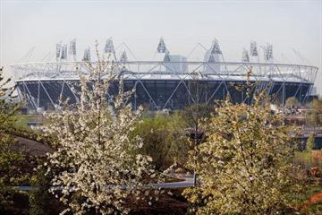 Spring in London's Olympic Park (Getty Images)