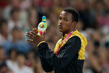 Jaheel Hyde at the 2014 Youth Olympic Games (Getty Images)