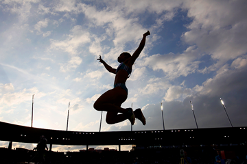 Long jump action from the IAAF Diamond League meeting in Zurich (Getty Images)