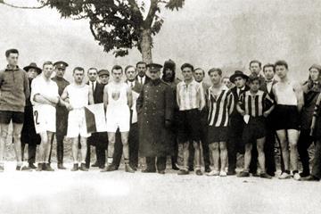 Kosice Peace Marathon - start in 1924 (loc)