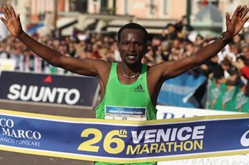 Tadese Aredo takes a 2:09:13 victory in Venice (Giancarlo Colombo/FIDAL)