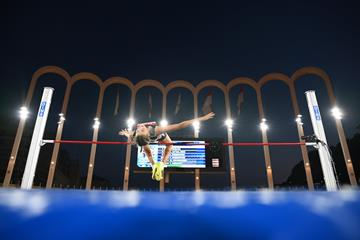 Yaroslava Mahuchikh, winner of the high jump at the Diamond League meeting in Monaco (Getty Images)