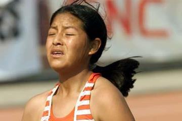 Ines Melchor of Peru (Daisy Zereceda - Atletismo Peruano)