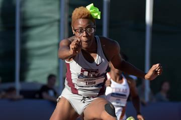 Shamier Little at the 2015 NCAA Championships (Kirby Lee)