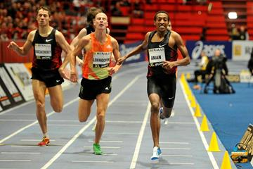 Mohamed Aman takes down a strong indoor field (Anders Sjogren / DECA Text&Bild)