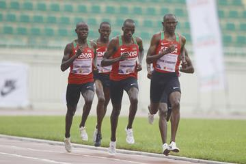Team Cheruiyot racing from Nairobi in the Impossible Games (Kelly Ayodi)